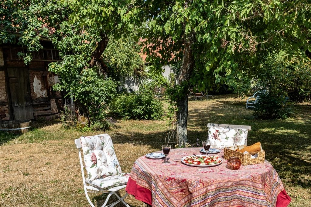 """Ferienhaus """"Zum Kirschgarten"""" - Ferienwohnung im Harz mit großem Garten"""