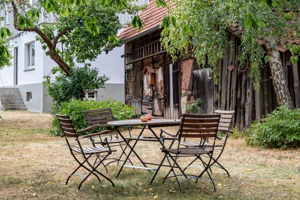 Ferienhaus Zum Kirschgarten: Gartendetails