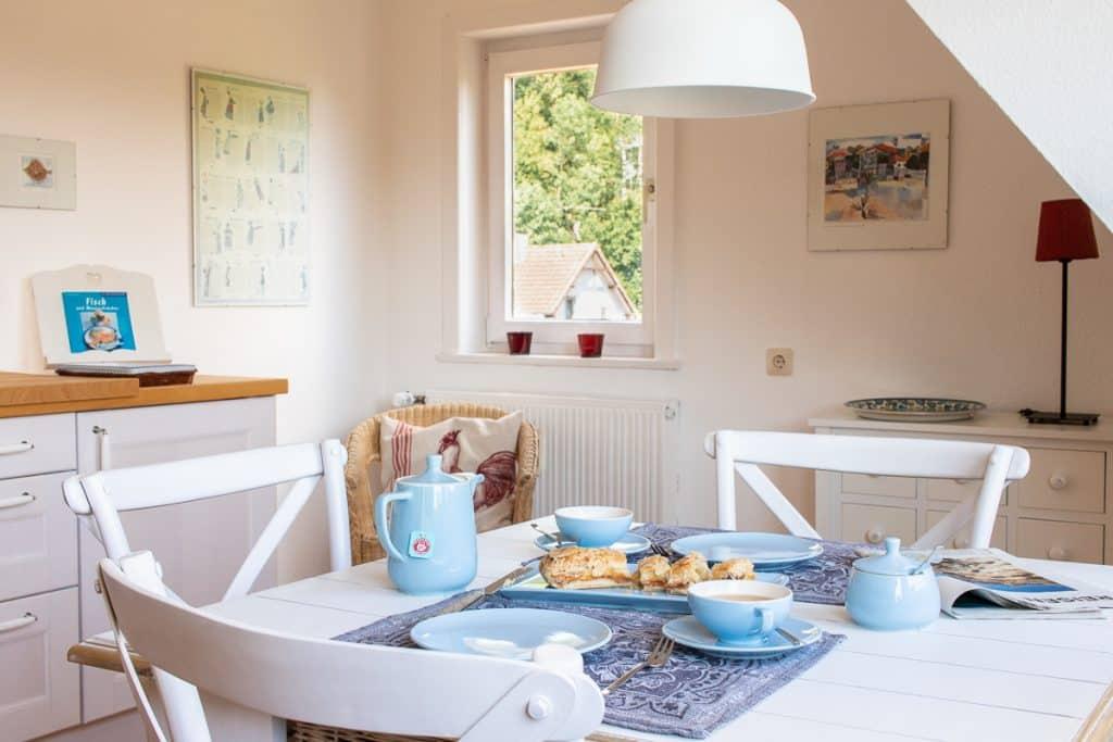 Ferienhaus im Harz: Küchendetails im Dachgeschoss